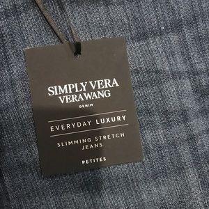 Simply Vera wang boot cut jeans 👖 2 petite NWT